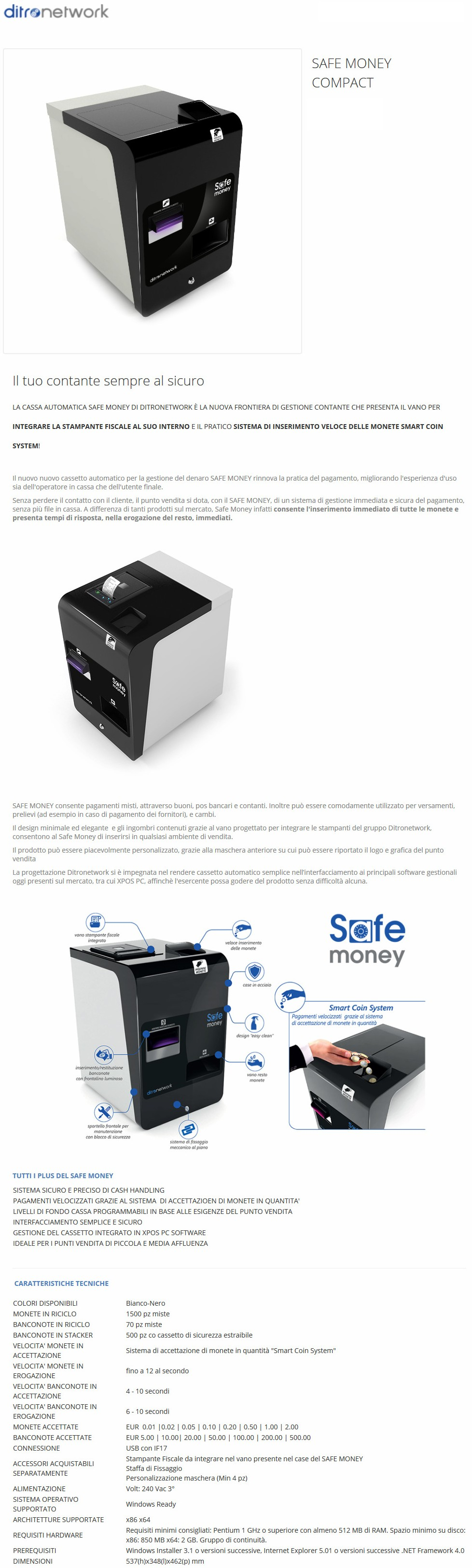 Safemoney Compact Ditronetwork